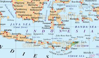 Contoh Peta Umum dan Peta Khusus Secara Lengkap