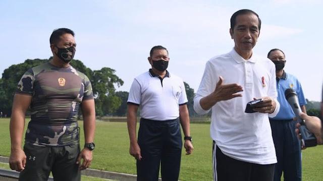 Jokowi ke TNI: Disiplinkan Masyarakat Agar Taat Protokol