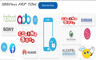 ADB Fastboot IBBDevs Huawei Sony Samsung FRP Tool Free password Download by Androidtipsbd71