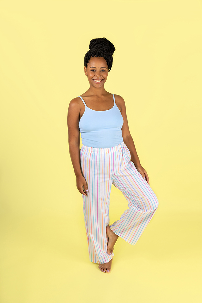 Jaimie pyjama bottoms or shorts sewing pattern
