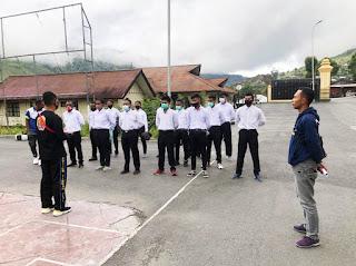Briefing dan Supporting Mental Bagi Calon Siswa Bintara Noken Papua