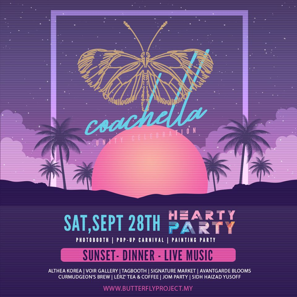 The Butterfly Coachella Unity Celebration, The Butterfly Project, Rawlins GLAM, Beauty by Rawlins, Rawlins Best Dressed, Coachella,