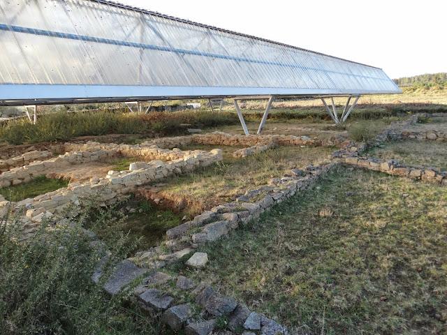 Campamento romano de A Ciadella en Sobrado