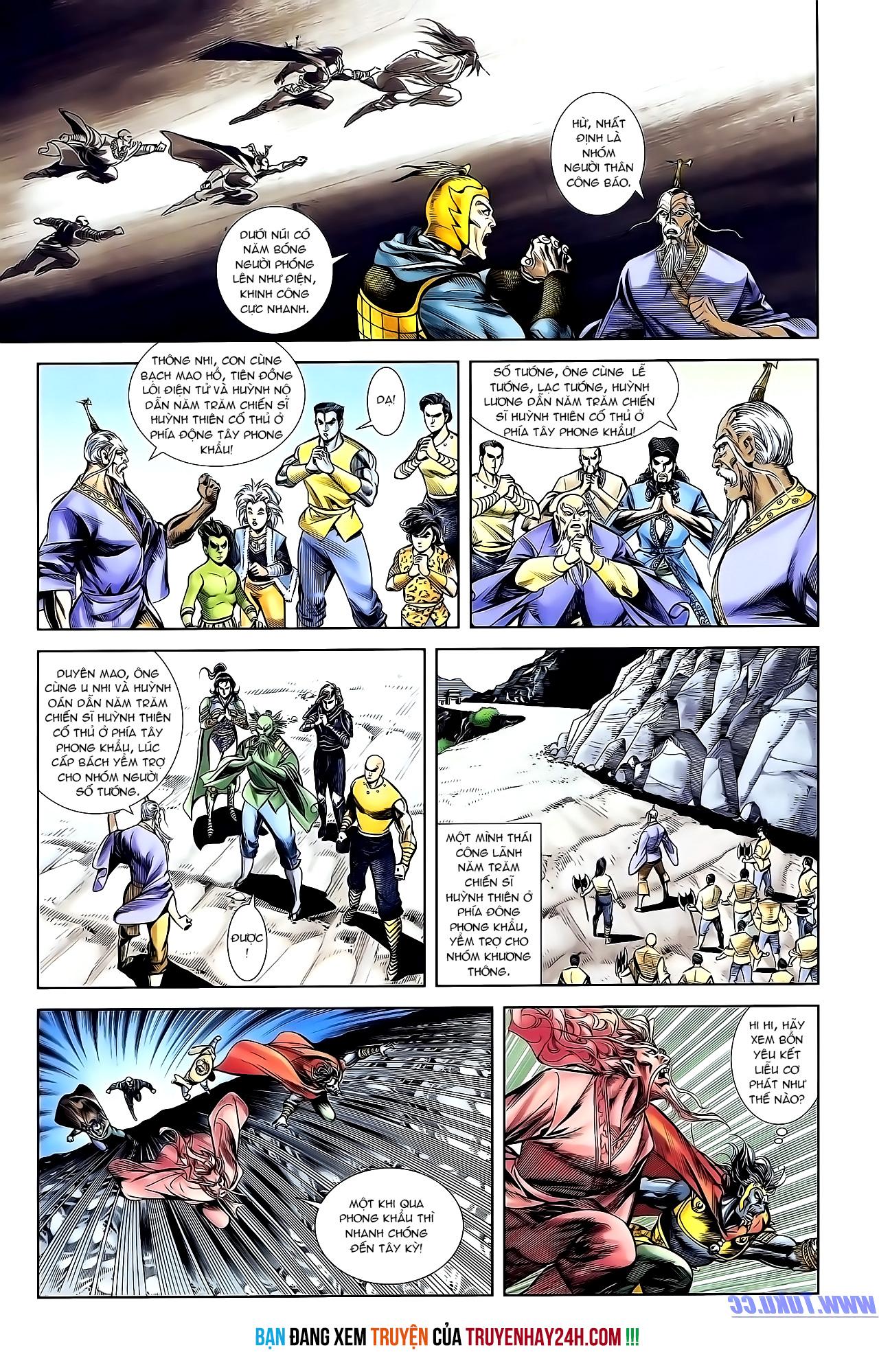 Cơ Phát Khai Chu Bản chapter 153 trang 29