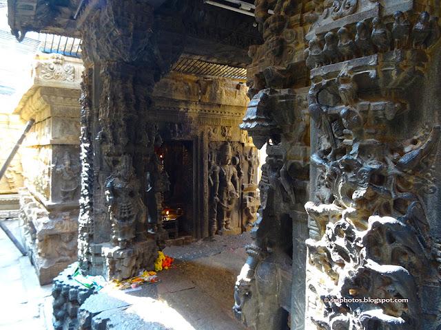 Vasantha mantapa, Bhoga Nandeeshwara Temple, Chikkaballapur, Bangalore