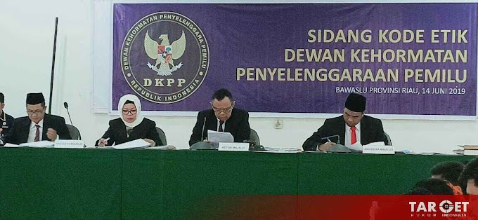 Nasib 5 Komisioner KPU Kuansing Menunggu Pleno DKPP RI