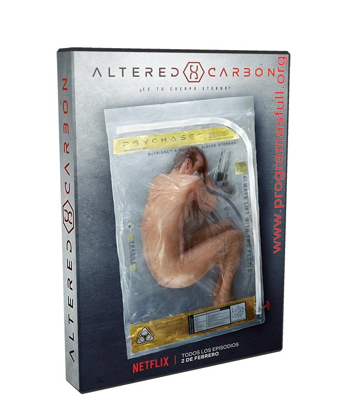 altered carbon poster box cover