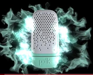 Polk Boom Bit Wearable Bluetooth Speaker