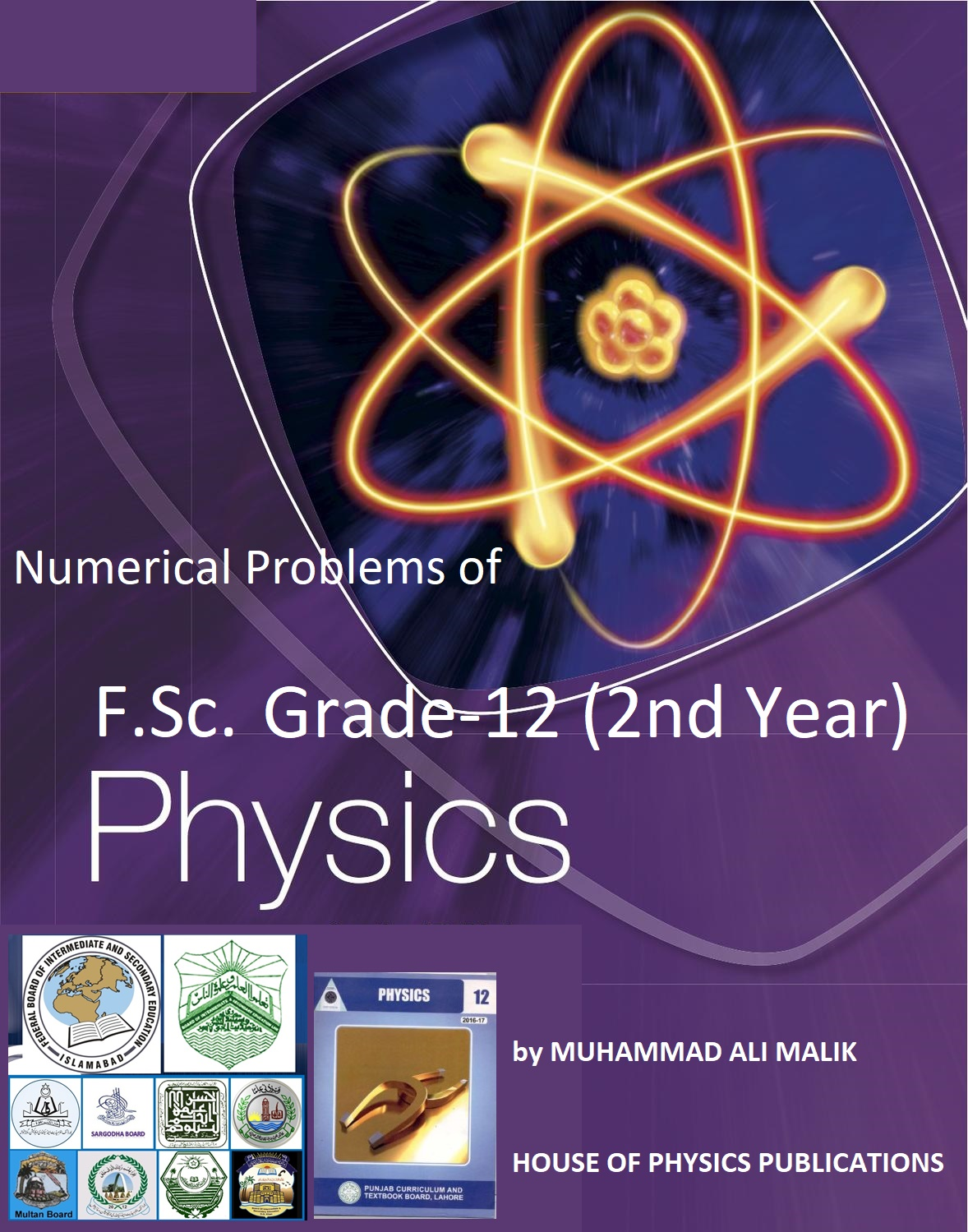 F Sc  Physics, 2nd Year Solved Numerical Notes - HOUSE OF