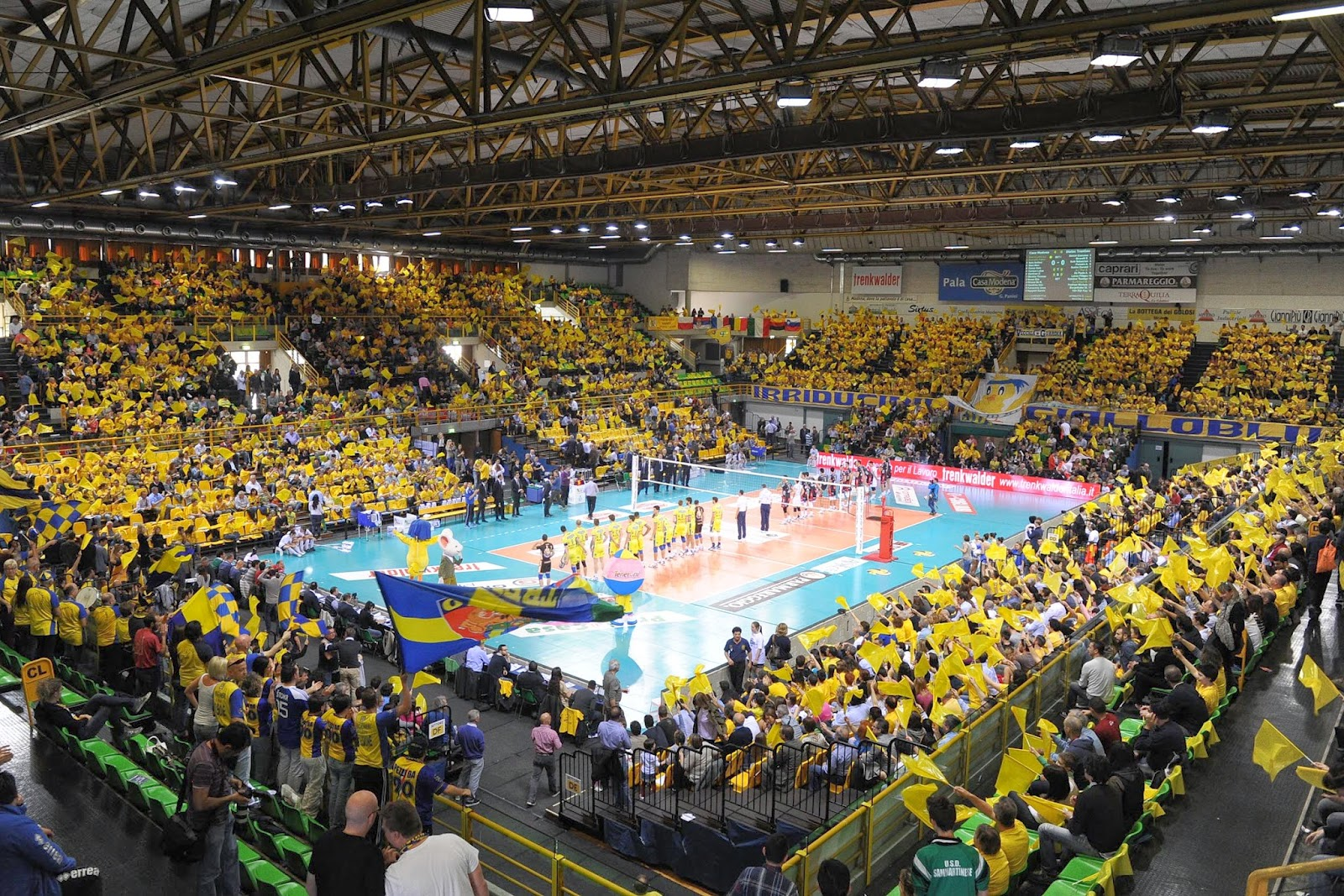 Visto dal basso volley casa modena la signora in giallo for Casa modena volley