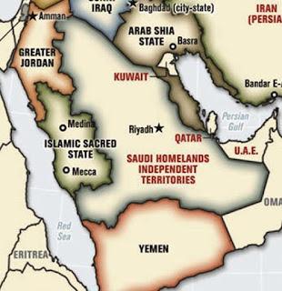 Suudi Arabistan dört parçaya bölünecek!