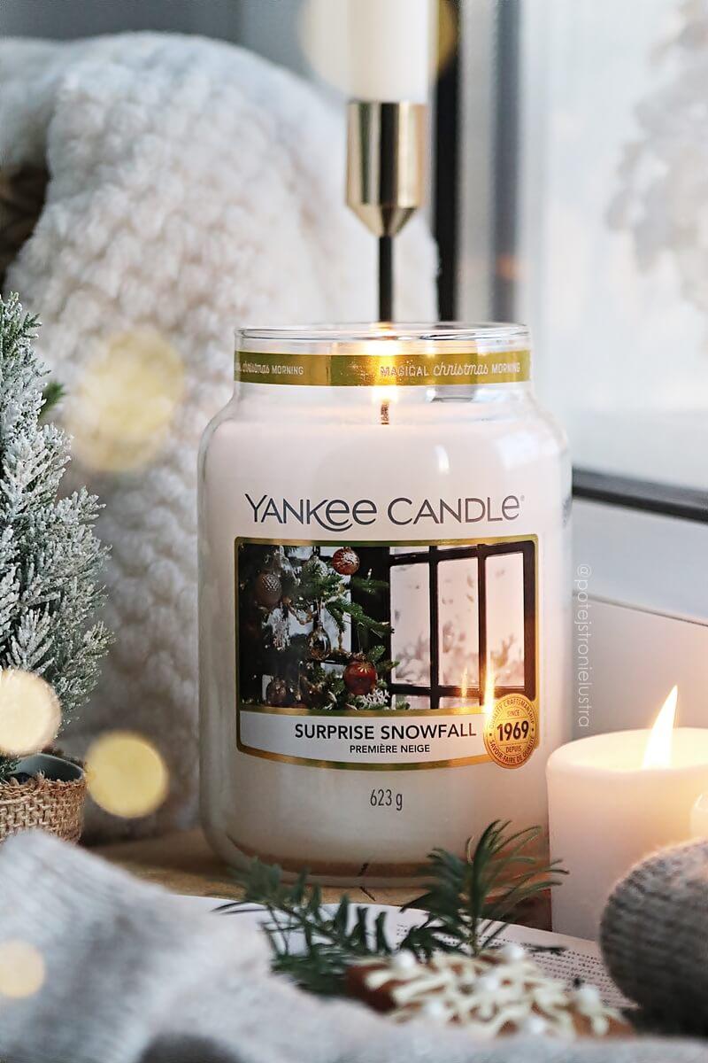 yankee candle surprice snowfall recenzja blog