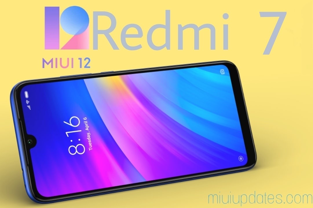 miui 12 for redmi 7