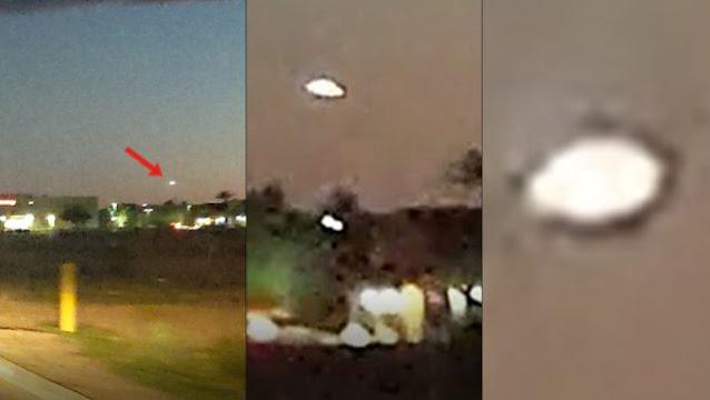 Luz misteriosa en el cielo cerca de la Base de la Fuerza Aérea Luke, Arizona