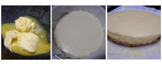 Cara Buat Blueberry Cheesecake yang sedap dan mudah