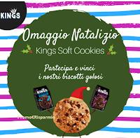 Logo Vinci gratis confezioni di biscotti Kings