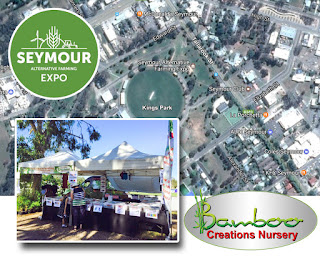 Bamboo Creations Victoria are attending the Seymour Alternative Farming Expo in February 2017