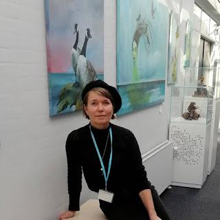 Ecco, exhibition, kunstudstilling, kunst Ayoe Pløger, ayoellplogerartgallery, contemporary art, portræt
