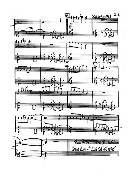 Partitura Trombón Carla Bley