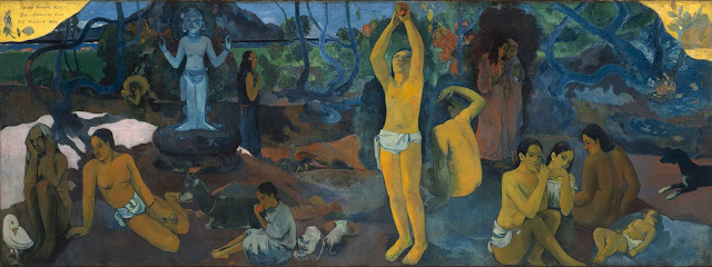 What are the Most Interesting Facts about Paul Gauguin?/ Do We Come From? What Are We? Where Are We Going?, (1897), Paul Gauguin