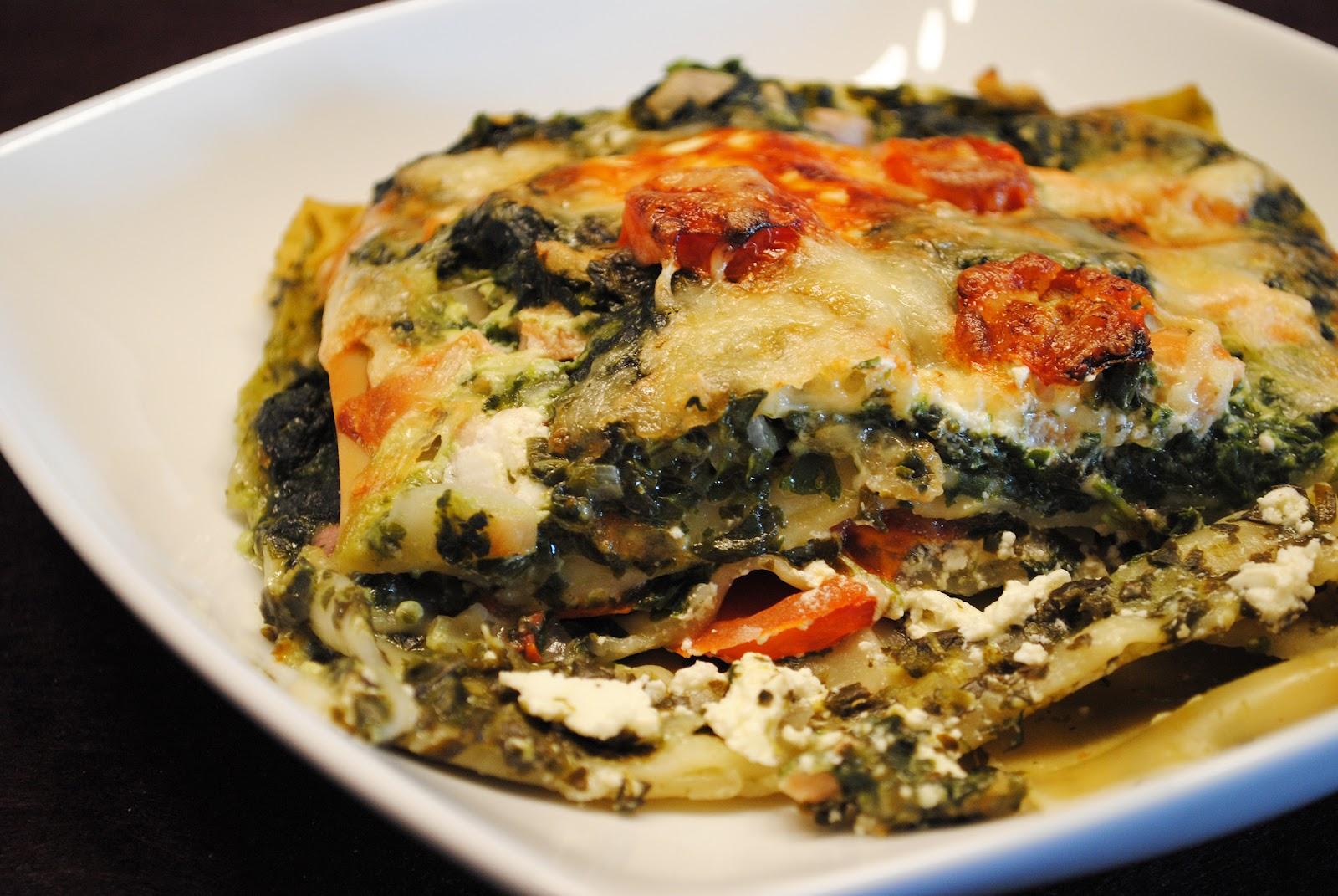 k chenzaubereien spinat lachs lasagne mit tomaten. Black Bedroom Furniture Sets. Home Design Ideas