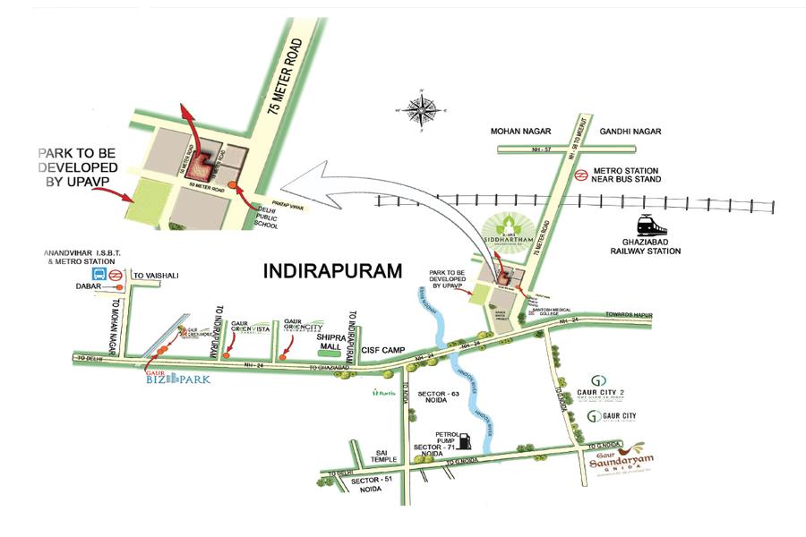 location-map-gaur-siddhartham