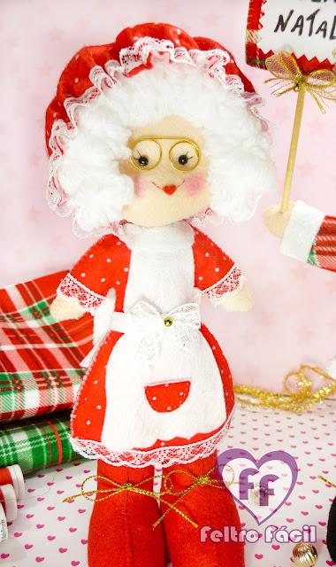 Mamãe Noel em Feltro