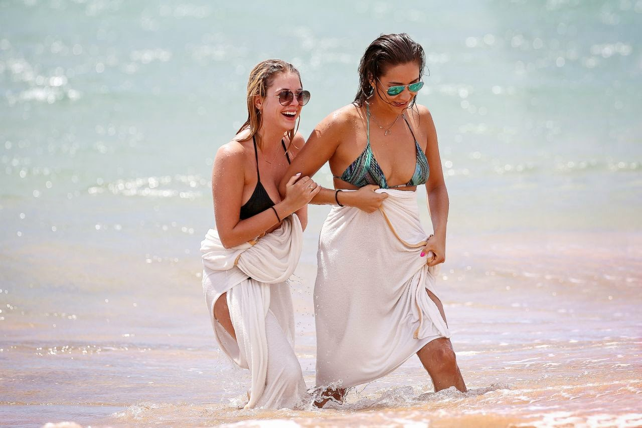 Ashley Benson and Shay Mitchell flaunt bikini bodies in Maui