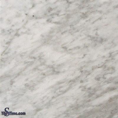 Carrara White Marble Tile 12 in. x 12 in.