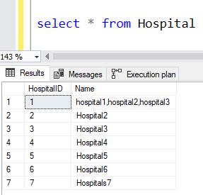 STRING SPLIT Function SQL Server 6
