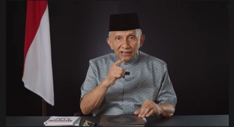 Amien Rais Sebut Jokowi Dikelilingi 'Siluman', Suruh Gibran Secepatnya ke KPK