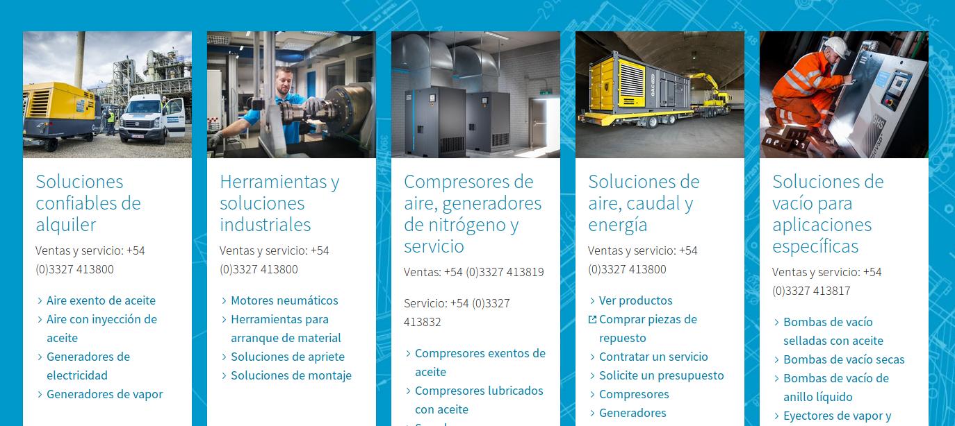Atlas Copco cerró el primer semestre 2019 con una inversión de 3.2 millones de dólares en Argentina
