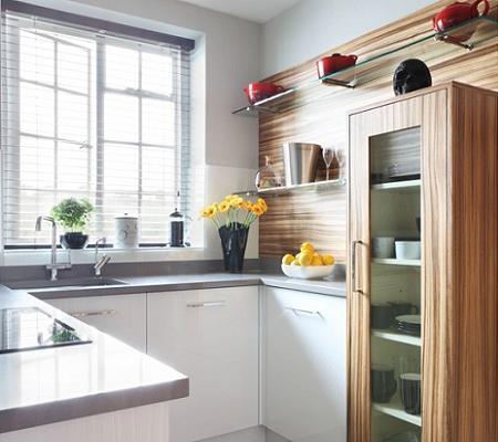 Organizar una cocina peque a decoshabby for Cocinas muy pequenas y alargadas