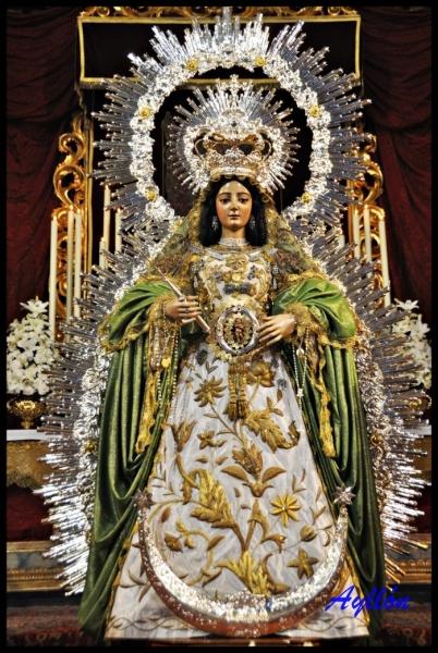 Horario e Itinerario Salida Procesional de la Virgen de la Esperanza Divina Enfermera en Sevilla