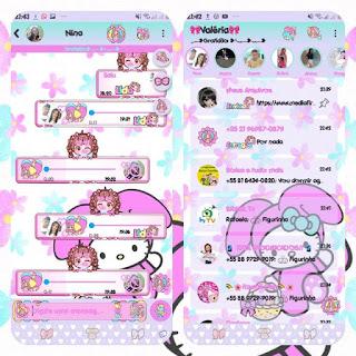 Hello Kitty Theme For YOWhatsApp & Fouad WhatsApp By Valéria