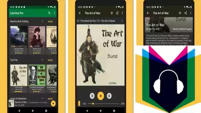 تحميل تطبيق اندرويد LibriVox قراءة الكتب