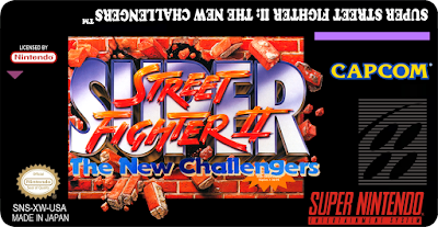 Rom de Super Street Fighter 2 - The New Challengers - SNES - Em Português - Download
