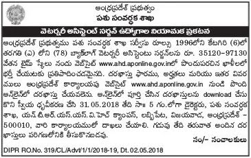 appsc veterinary assistant surgeons recruitment,AP  Animal Husbandry Veterinary assistant surgeons Recruitment,scheme of exam,selection procedure,syllabus,last date for apply,written exam date,hall tickets,results