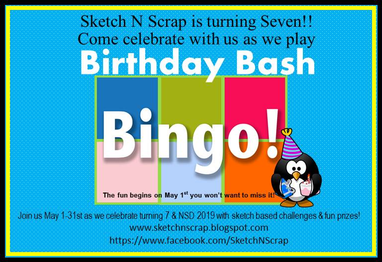 7th Birthday Bash Bingo