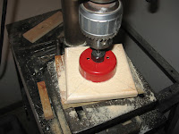 Drilling 2.5 inch hole