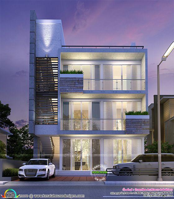 Bengaluru home design duplex
