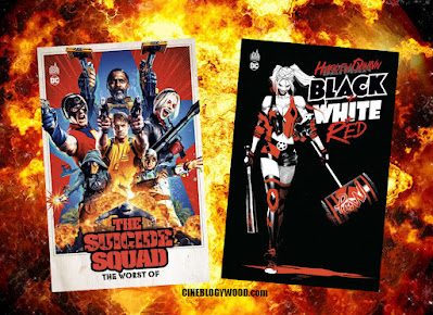 The Suicide Squad The Worst Of Harley Quinn Black + White + Red BD comics CINEBLOGYWOOD