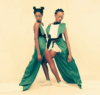Models celebrate Nigeria