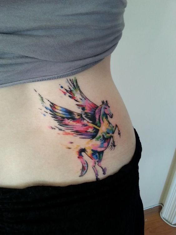 What is the meaning of a Pegasus tattoo?