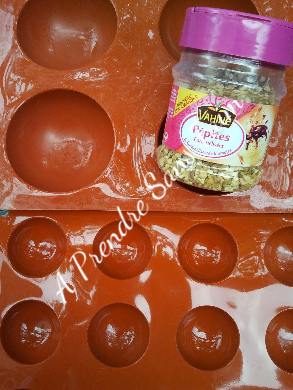 Bouchées façon Ferrero rochers (pas à pas en photos)