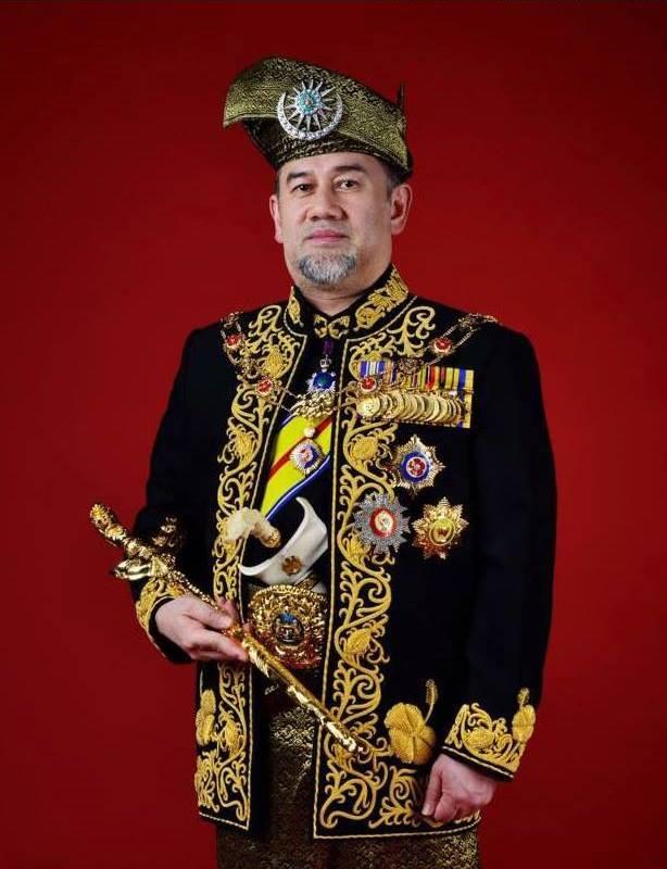 Warisan Raja Permaisuri Melayu Potret Rasmi Dan Tarikh Pertabalan Yang Di Pertuan Agong Ke 15