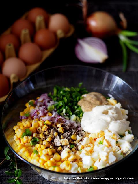 jak zrobić sałatkę z jajek