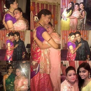 kavita-kaushik-with-Bharti-Mehendi