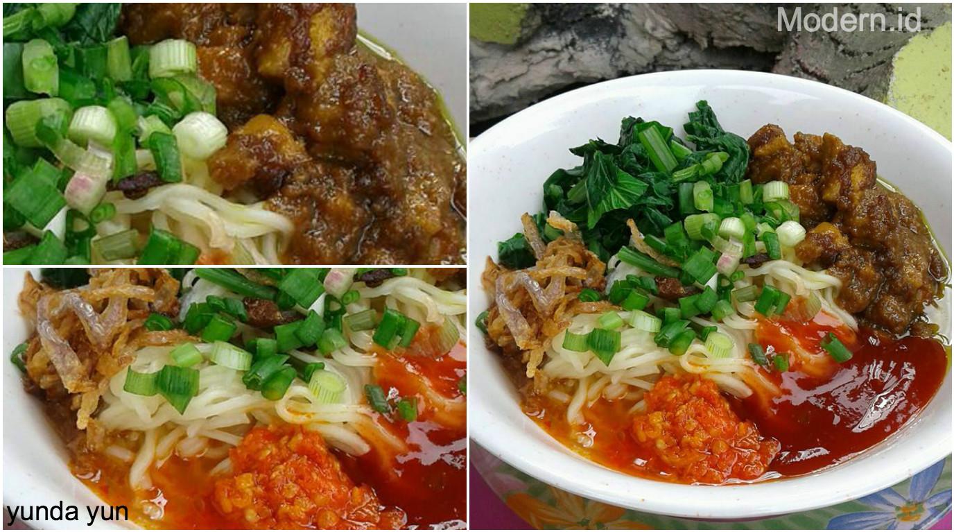 Resep Mie Ayam Home Made Ala Yunda Yun Modern Id