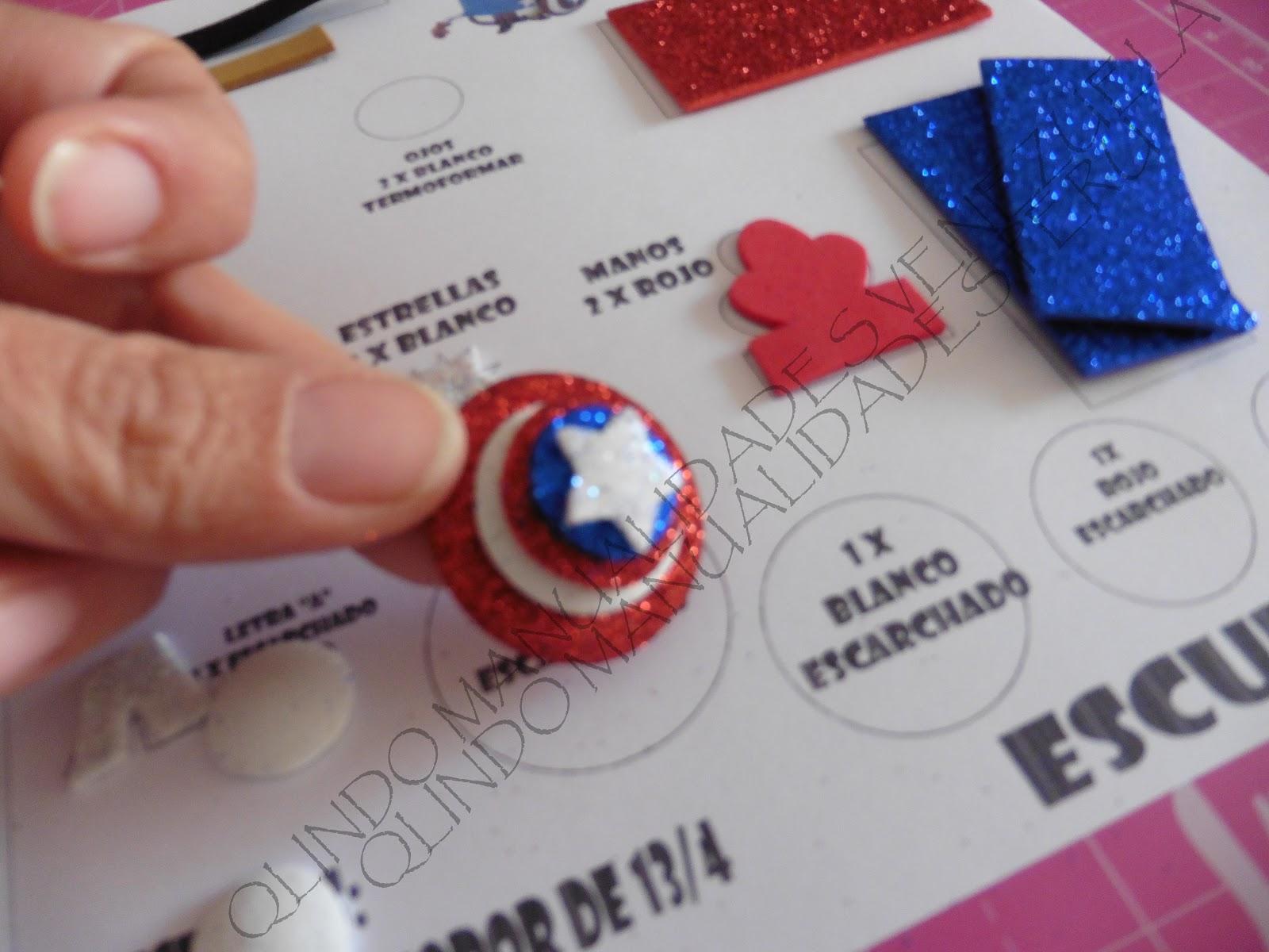 Fofulapiz Minions Capitán América